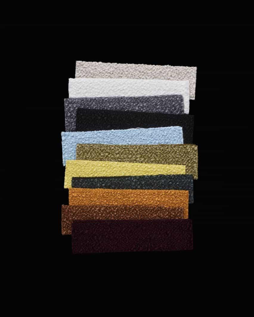 Helia, de la colección de tapicería de Kvadrat por Raf Simons