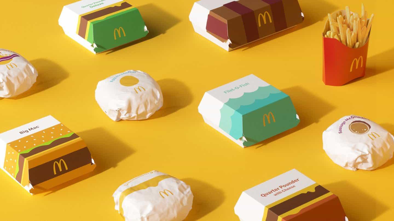 McDonald's lanza un rediseño global de envases con un enfoque en la ilustración