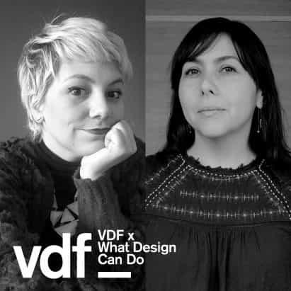 charla en vivo por la igualdad de género en el diseño como parte de la colaboración de VDF con lo que el diseño Can Do