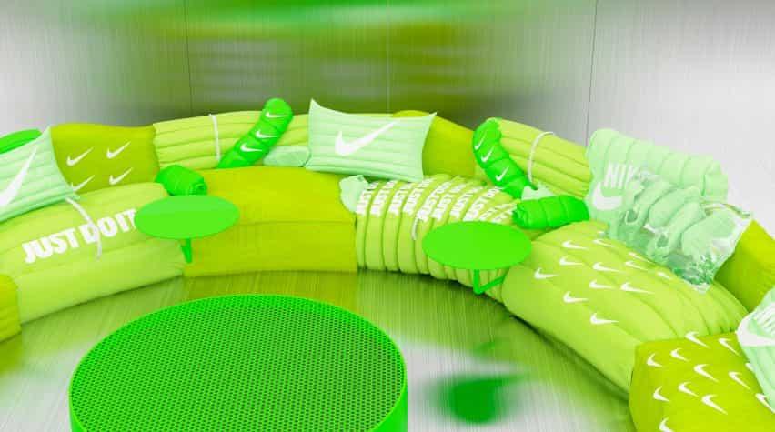 Air Max Día Sofá por Crosby Estudios