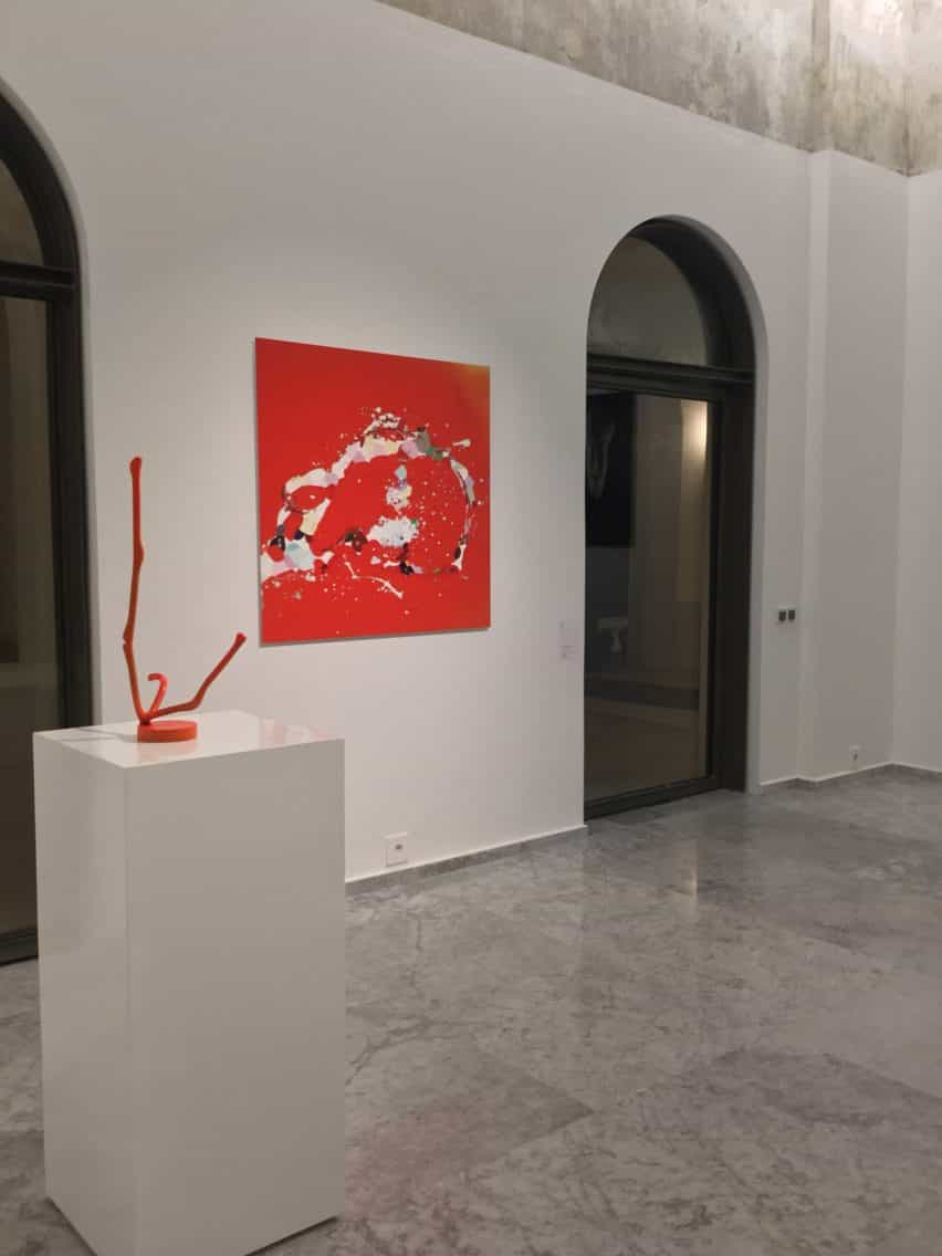 Exposición kossi Aguessi