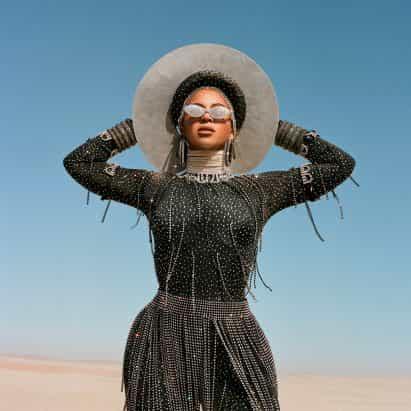 """Negro es el rey de Beyoncé objetivos de película para iniciar """"una conversación global"""", dice el estilista Zerina Akers"""