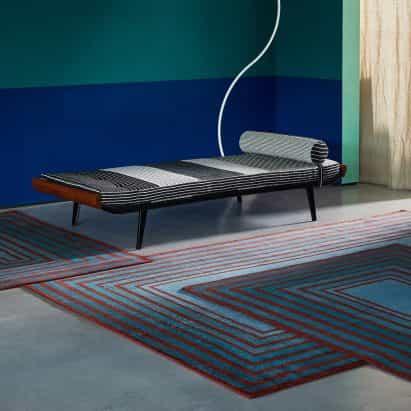 """alfombras modulares de malo Sebastián se pueden conectar en un """"campo sin fin"""""""