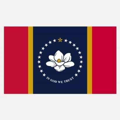 Mississippi vota para adoptar oficialmente en dios que la bandera de Confianza
