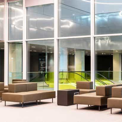 Bloques de mobiliario modular, por OMA para Lensvelt