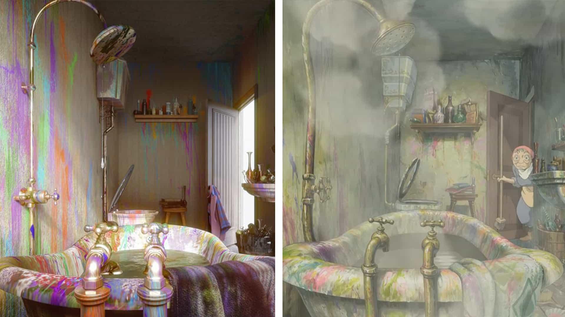 Las habitaciones de Studio Ghibli de la vida real son objetivos serios del diseño de interiores