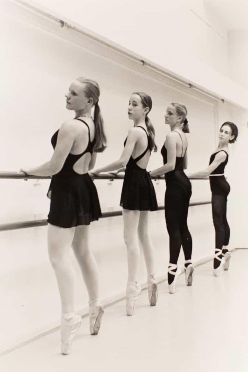 Iris van Herpen entrenados en el ballet hasta que tenía 18 años
