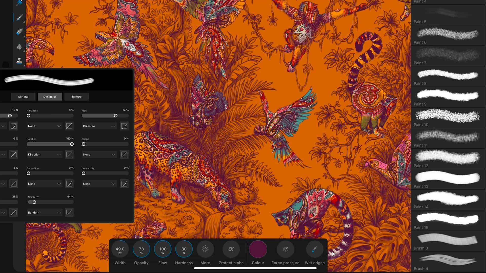Crear arte sobre la marcha con estas aplicaciones de dibujo brillantes para iPad.