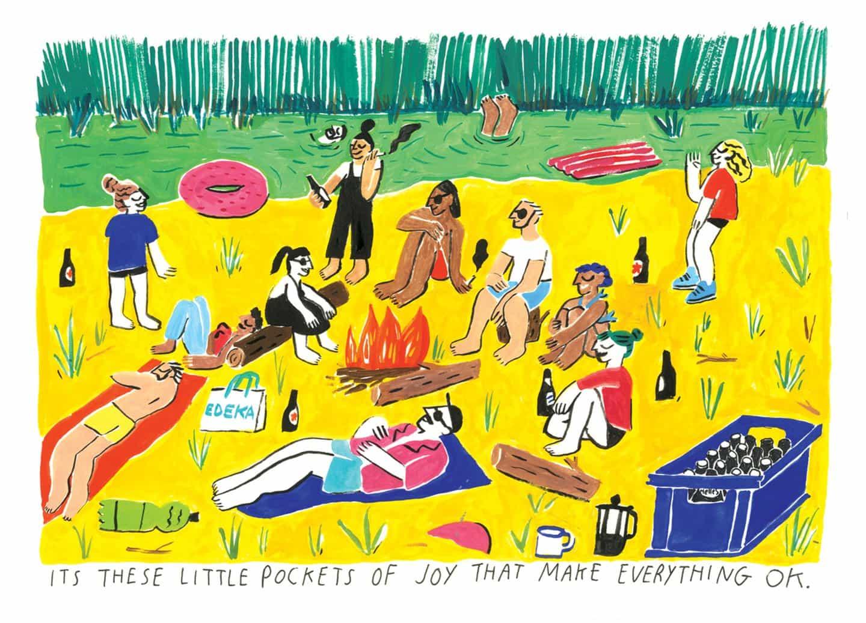 Jayde Perkin sobre el proceso catártico y difícil de ilustrar un libro de memorias