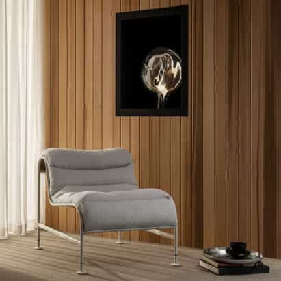 Asientos soleados por Note Design Studio x Gunilla Allard para Lammhults