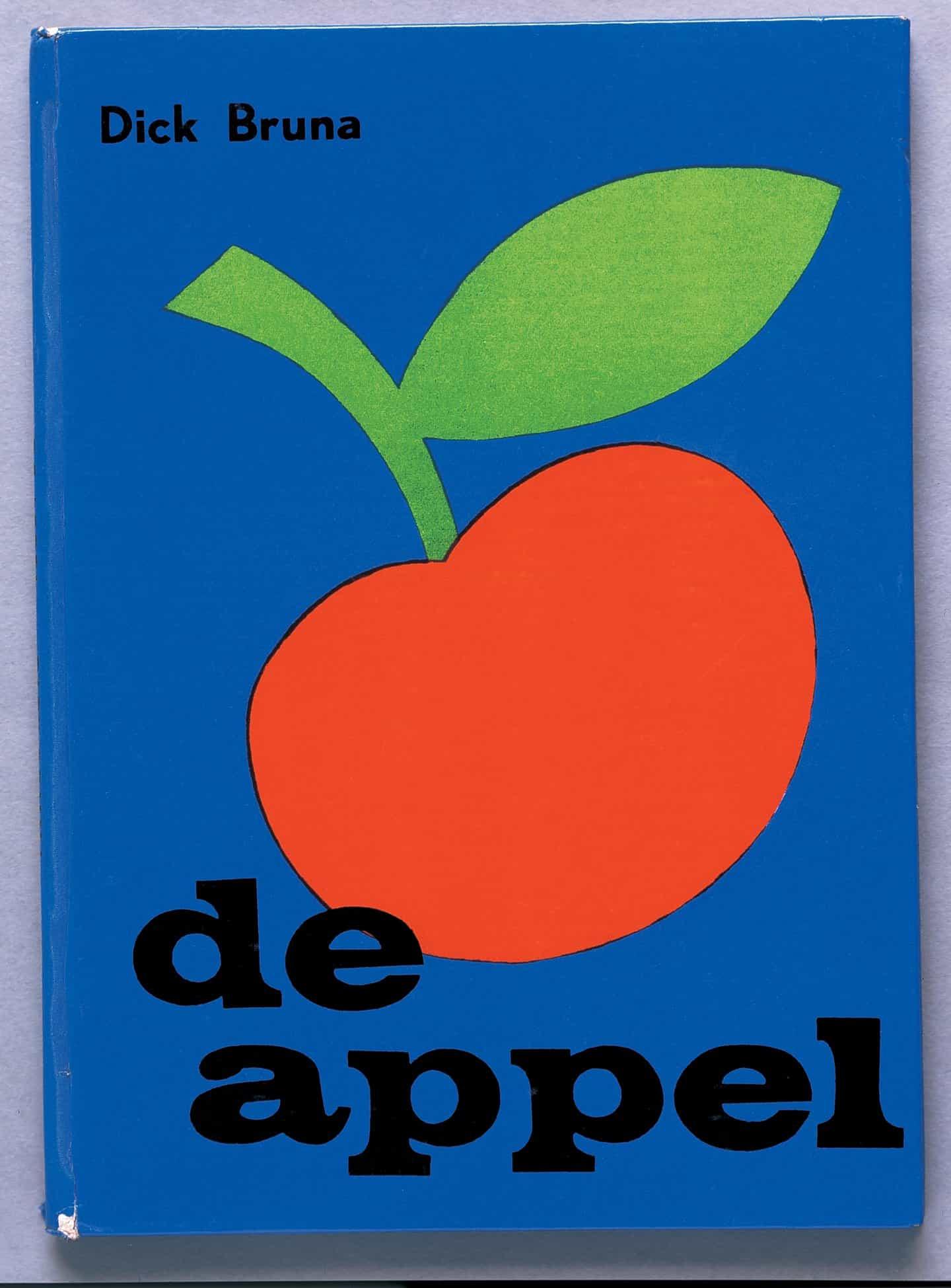 Dick Bruna: De Appel (ilustraciones Dick Bruna © copyright Mercis bv, 1953-2020)