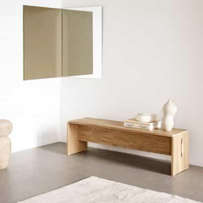 -Paquete plano mesa Plint de Cecilie Manz para Takt se compone de dos partes