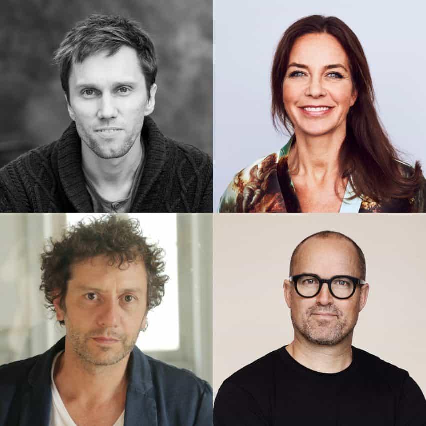 Alexander Lervik, Li Pamp y Petter Thorne discuten la línea entre el arte y el diseño en esta charla filmada por Dezeen para Aritco en Estocolmo
