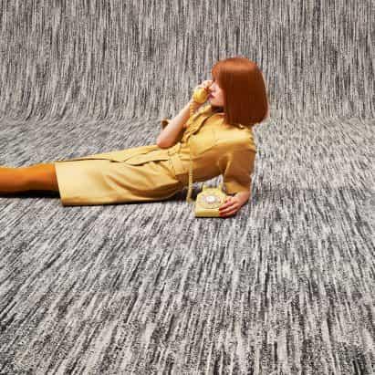 Conoce a X Beat Carpet by Ippolito Fleitz Group para alfombra de objeto