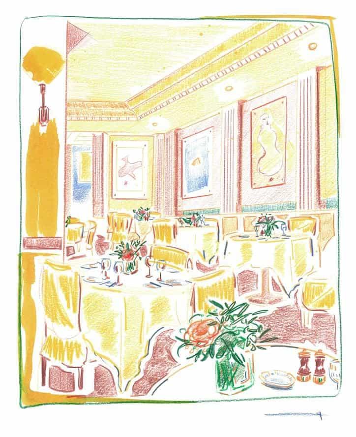 """""""Adoro dibujos llamativos de línea y color rico"""" Sam Wood en sus sugerentes ilustraciones interiores"""