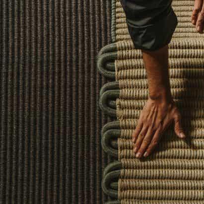 Enlace alfombra por MUT Diseño para Expormim
