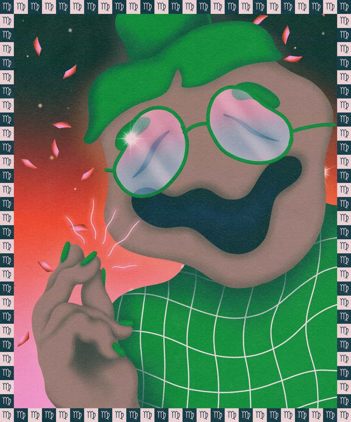 Anthony Eslick utiliza la tensión entre el horror y el humor en sus ilustraciones surrealistas con aerógrafo