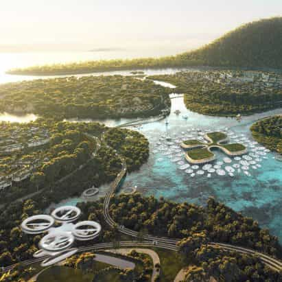 """""""La arquitectura necesita para asumir una nueva vida para nuestro mundo a evolucionar"""", dice el comentarista"""