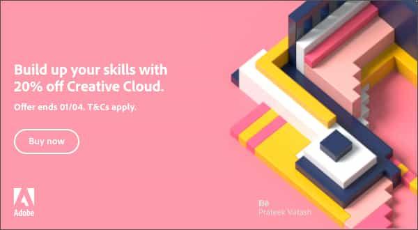 Ahorre un 20% en Creative Cloud con esta oferta imperdible de Adobe: ¡la oferta termina pronto!