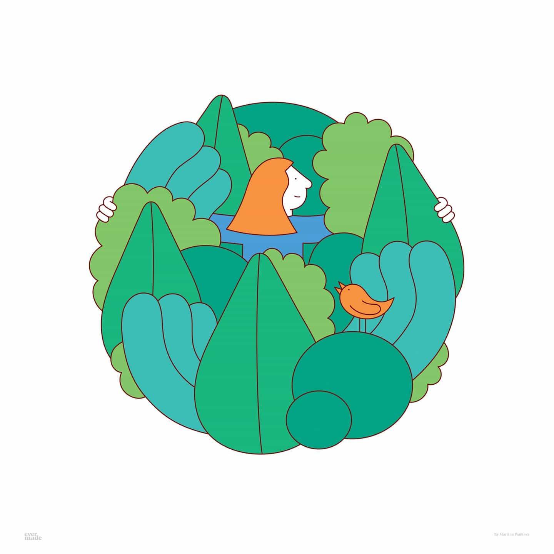 Matt Willey y Camille Walala entre los artistas que van circular para la Hora del Planeta