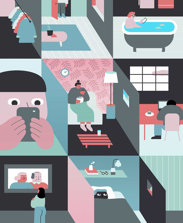 Jing Wei: La soledad de New York Times