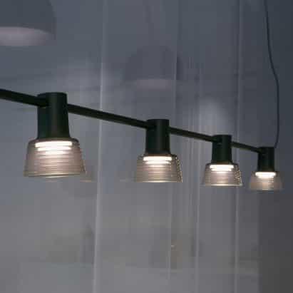 Colgante Compose Rail de Jens Fager para Zero Lighting