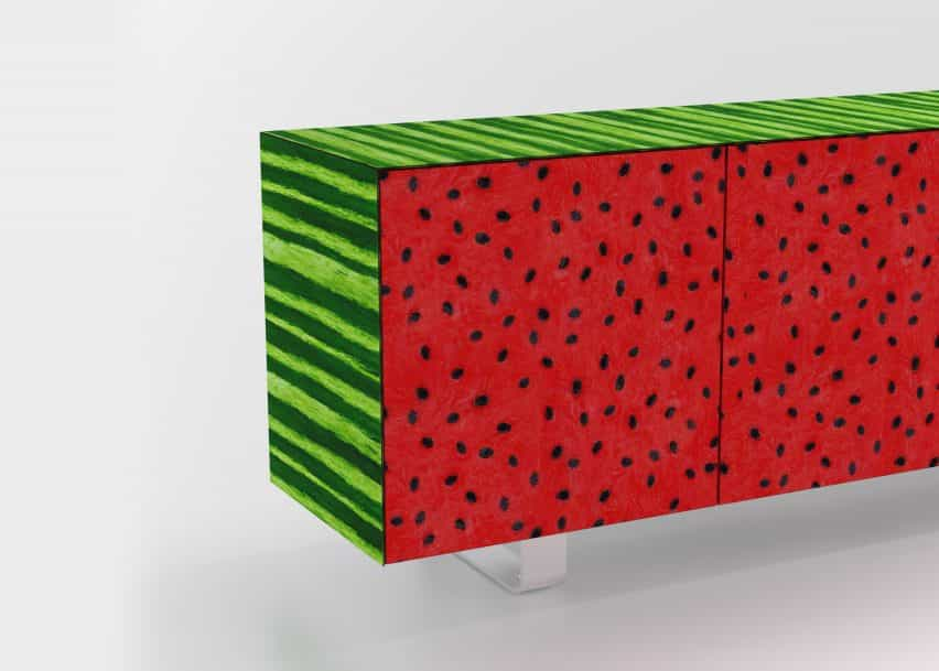 Los diseñadores se basan en Memphis y movimientos del arte pop de reinterpretar los muebles De Rosso