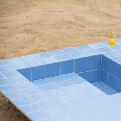 mesas y bancos Piscinas parecer mini piscinas