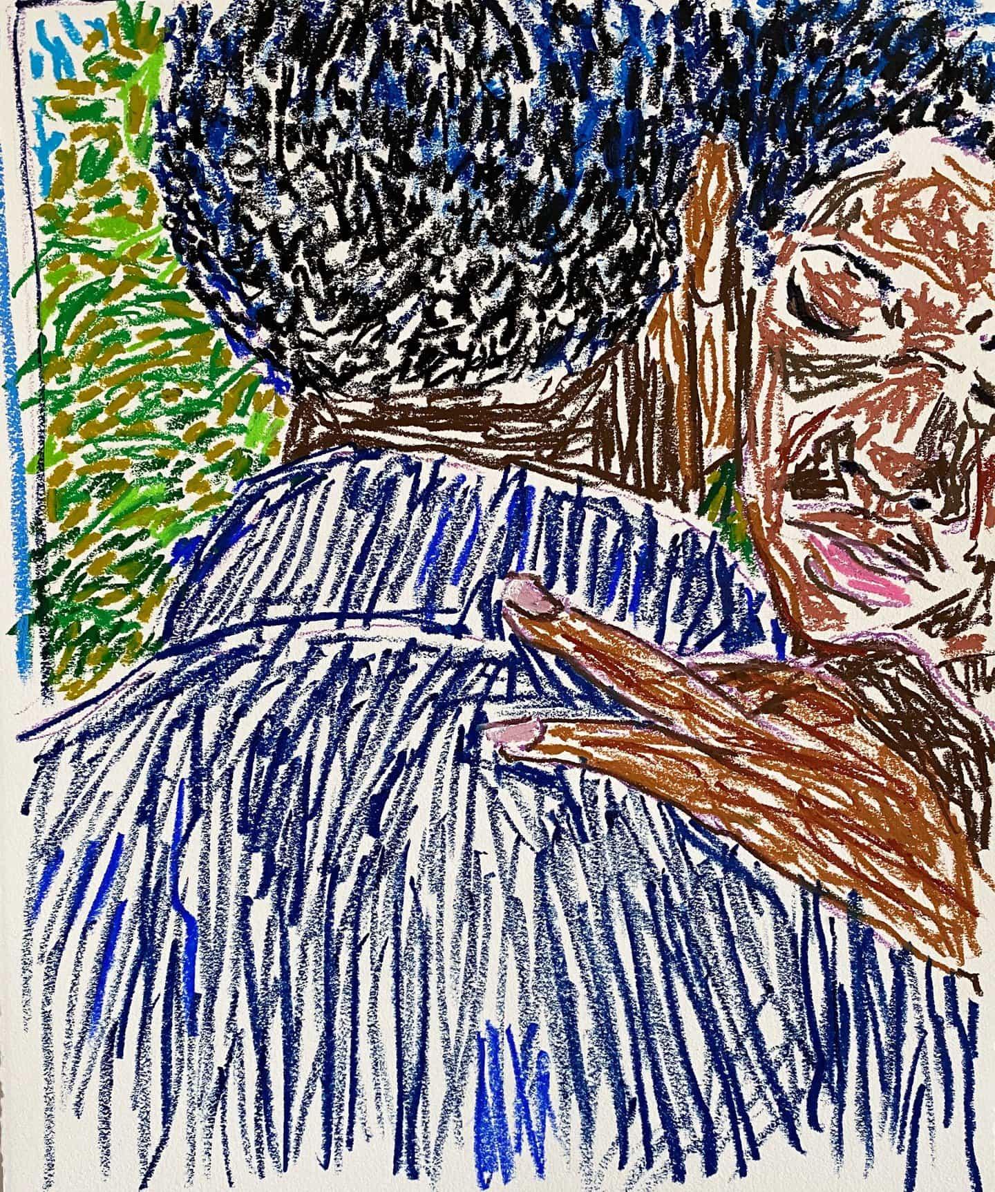 """""""No estoy tratando de hacer una declaración con mi trabajo"""": Paul Verdell sobre cómo está """"solo aquí para pintar"""""""