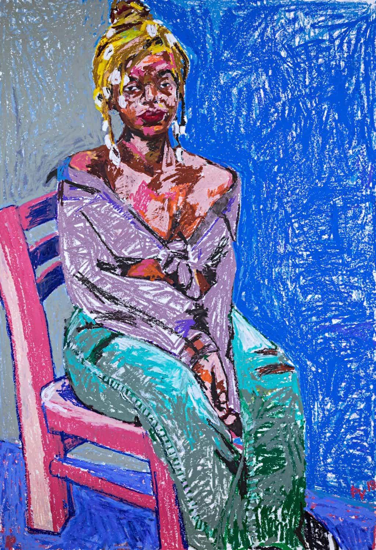 Paul Verdell: Rosa suave (Copyright © Paul Verdell, 2020)