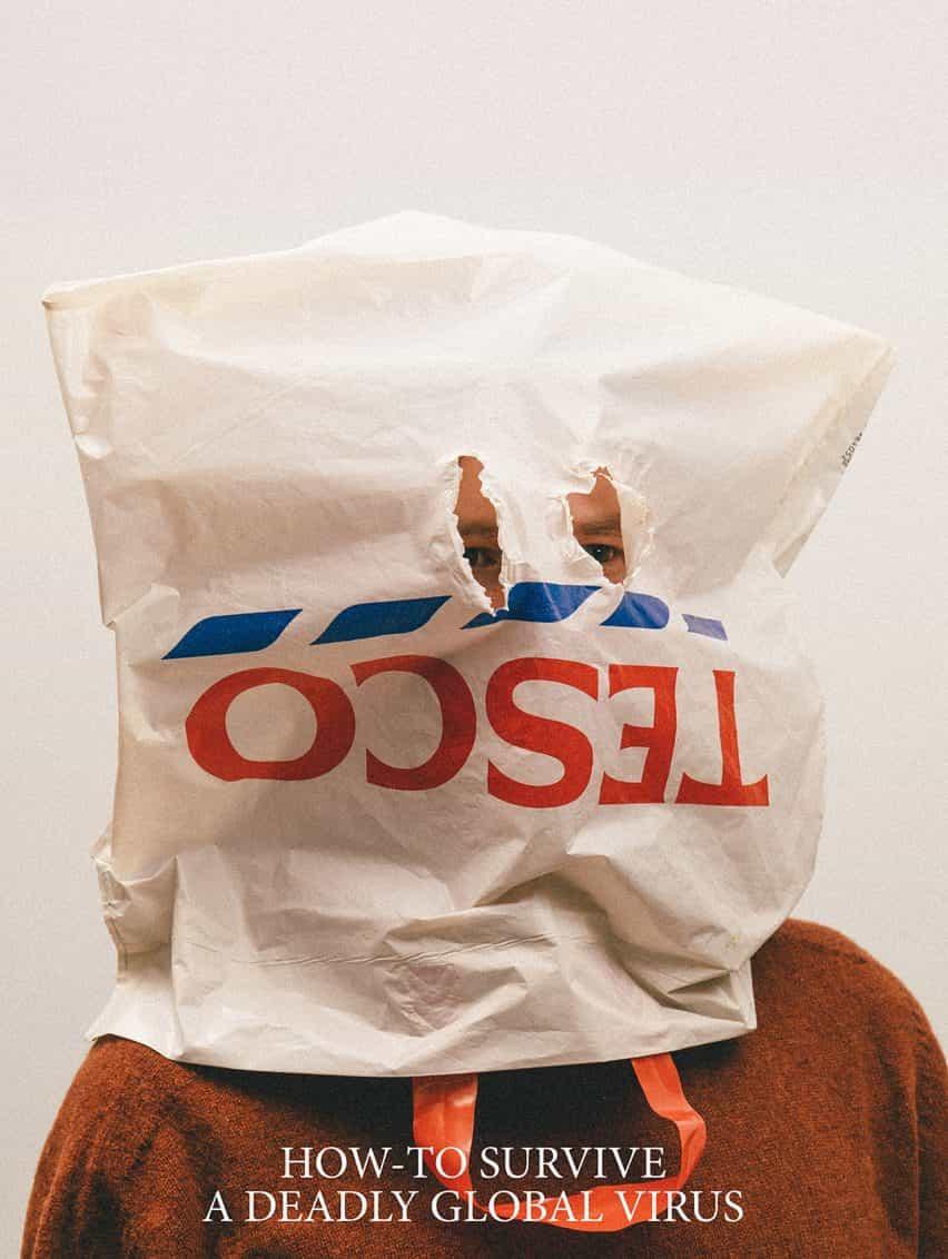 máscaras Alternativa Coronavirus por Max Siedentopf con bolsa de transporte Tesco