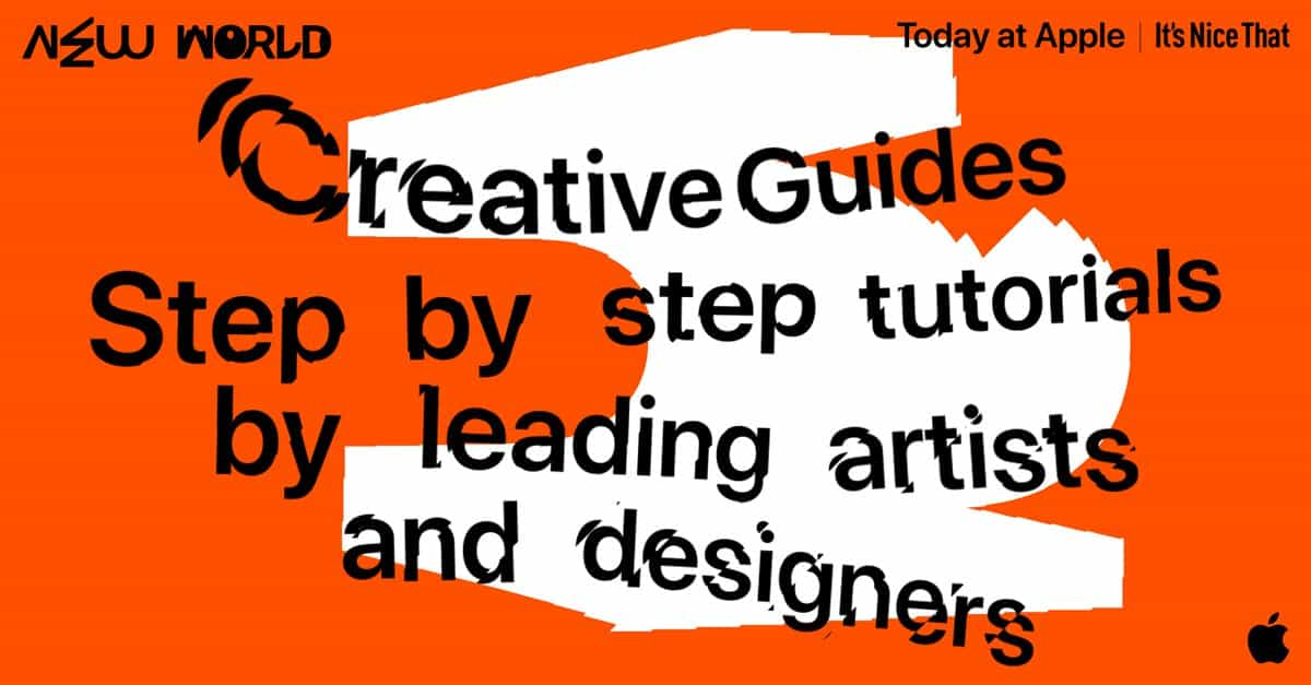Nuevo mundo: Aprende AR, tipografía, collage y más en estas guías creativas gratuitas