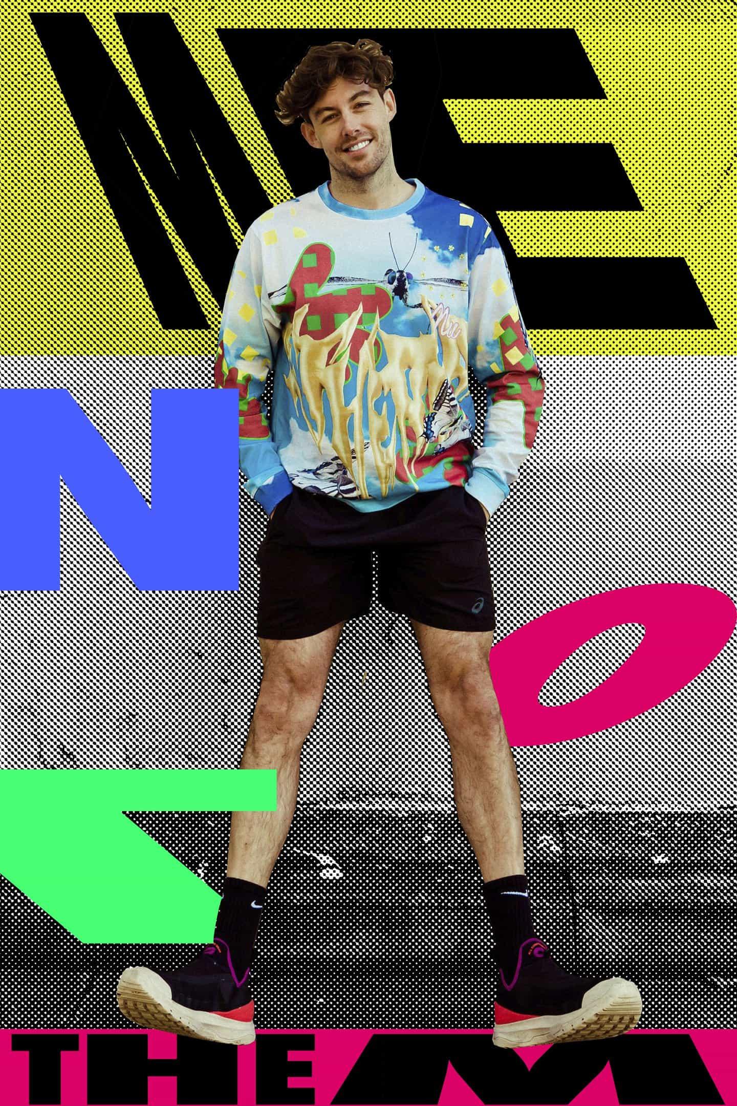Los resultados del breve de Kris son collages que expresan su identidad en el Nuevo Mundo
