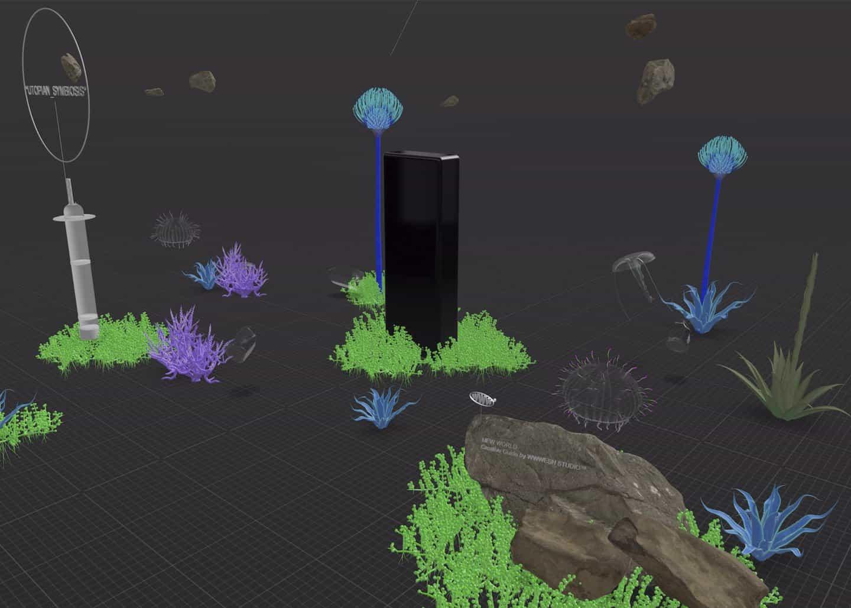 Usando Reality Composer, tendrás la oportunidad de trabajar con activos 3D