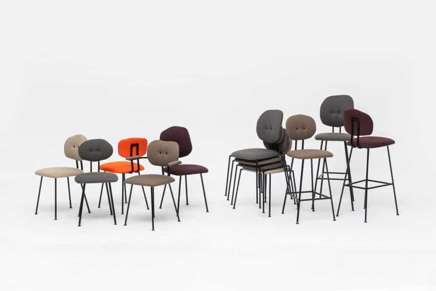 sillas de Baas' para Lensvelt