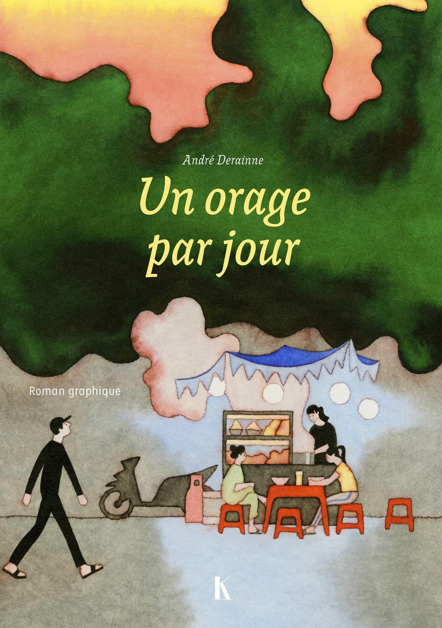 El nuevo cómic de André Derainne es una colorida excursión a la comida, la cultura y la arquitectura de Ho Chi Minh.
