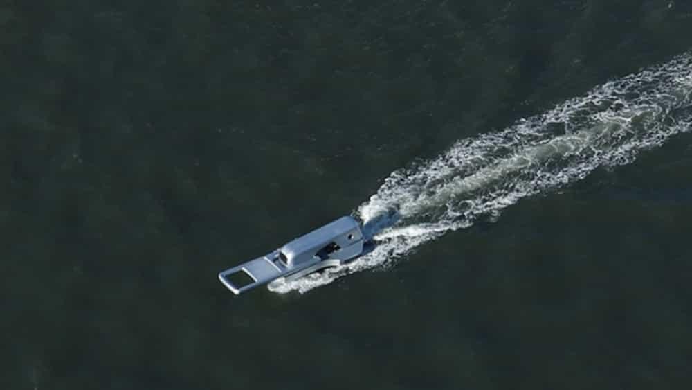 Este diseño de barco 'zip' es lo mejor que verás en todo el día