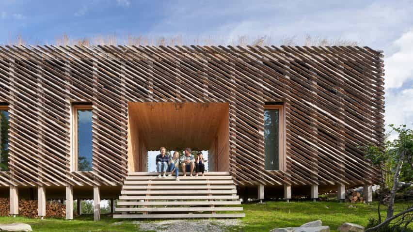 Skigard Hytte Mork-Ulnes arquitectos en Kvitfjell, Noruega