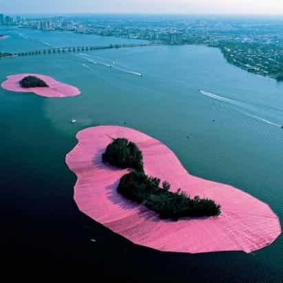 Ocho proyectos clave de Christo y Jeanne Claude