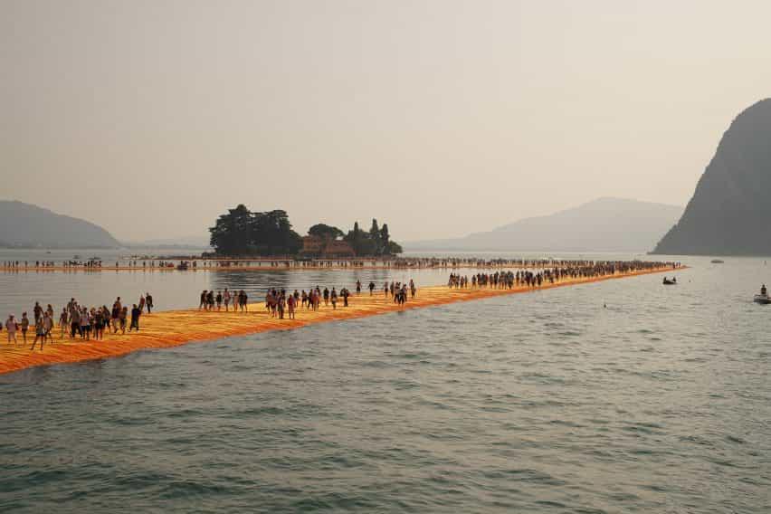 Christo y Jeanne Claude ocho proyectos clave