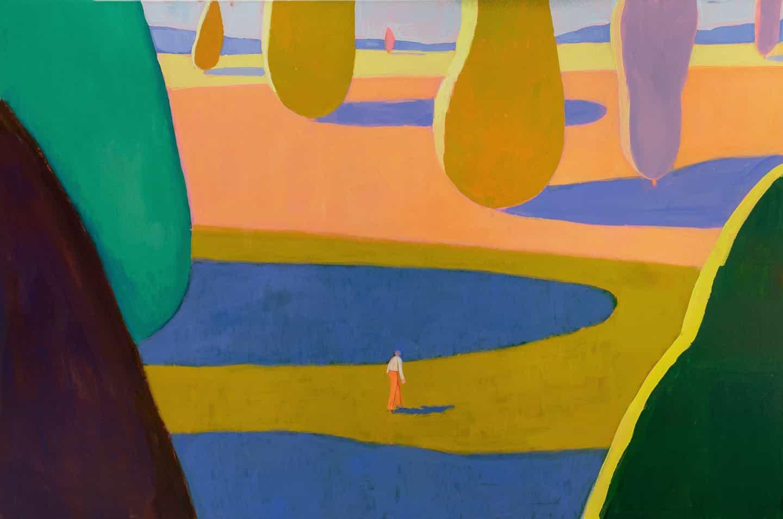 Las pinturas de Jackson Joyce son como una película compuesta de sólo primeros planos