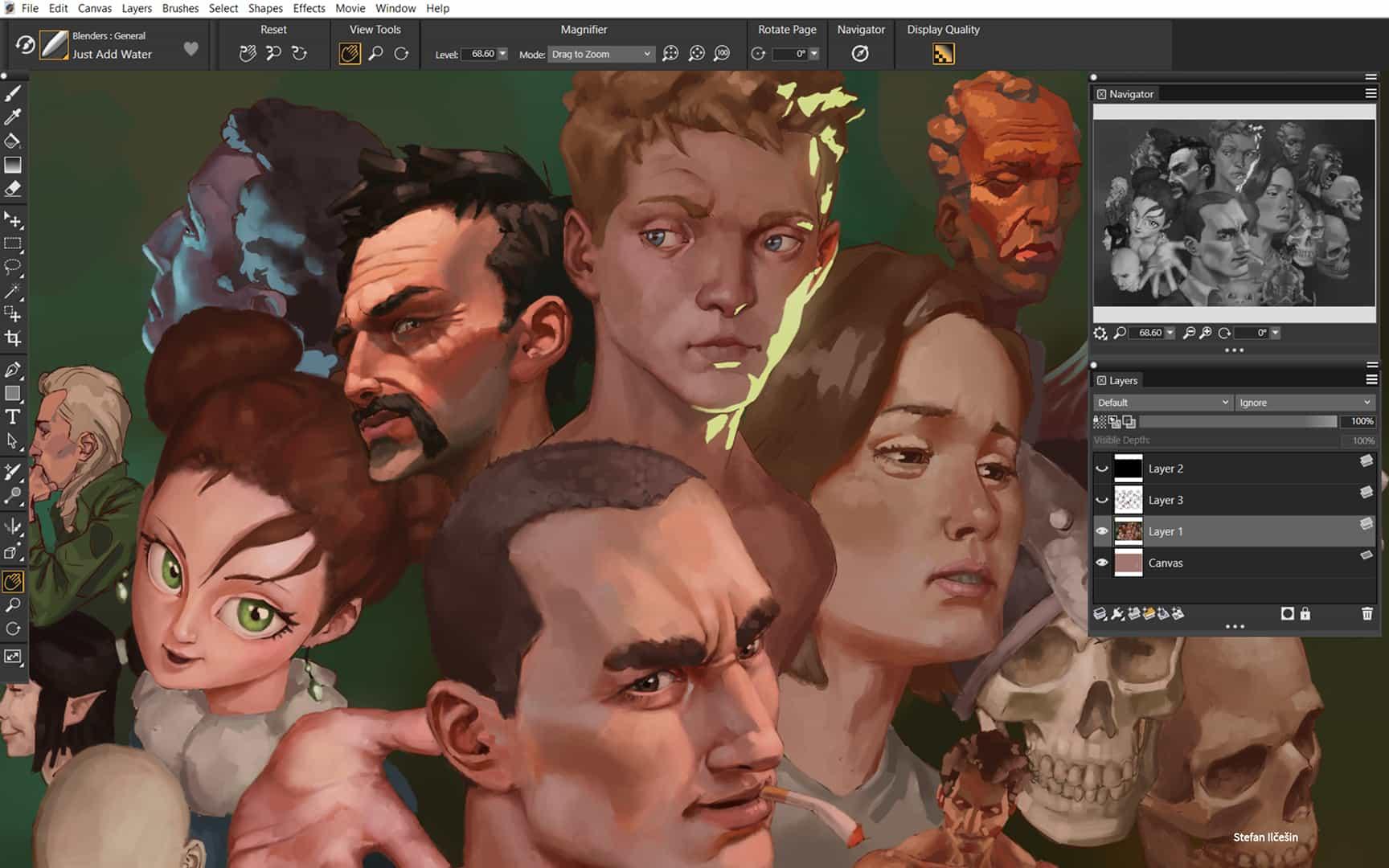 Revisión de Corel Painter 2022