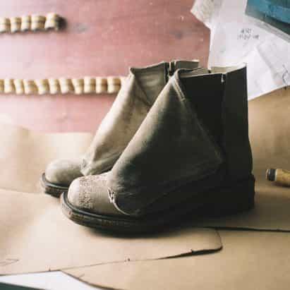 botas de Triglav Lederhosen de Matthias Winkler