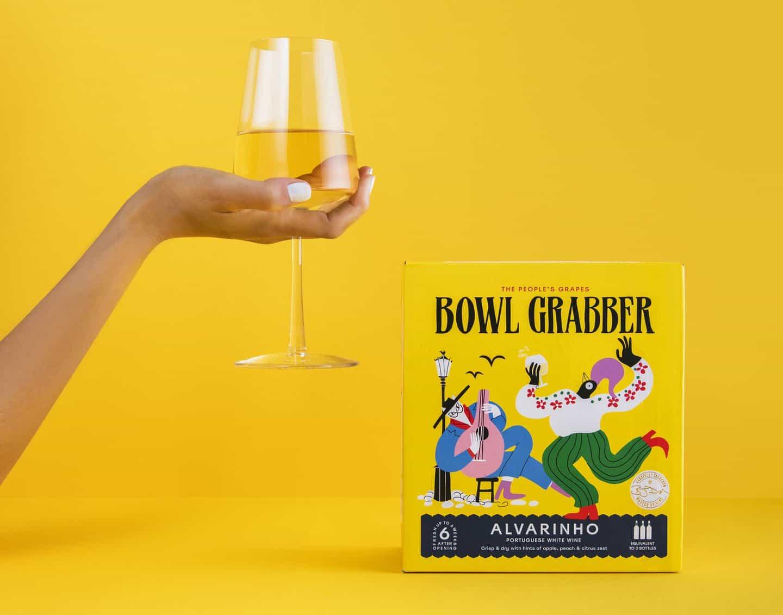 La marca casual Business para Bowl Grabber mantiene su visión de una cultura del vino relajada