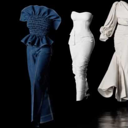 Hanifa debuta digitalmente Pink Label colección de moda Congo uso de modelos 3D