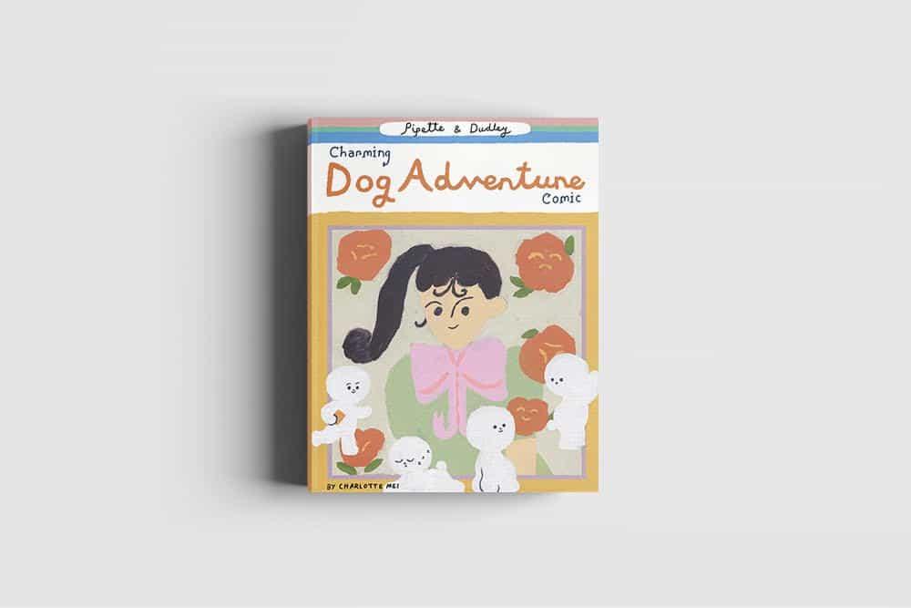 Conoce a la princesa / micro pipeta influyente y sensible Bichon Dudley en una delicia de 98 páginas de Charlotte Mei pintadas cómica