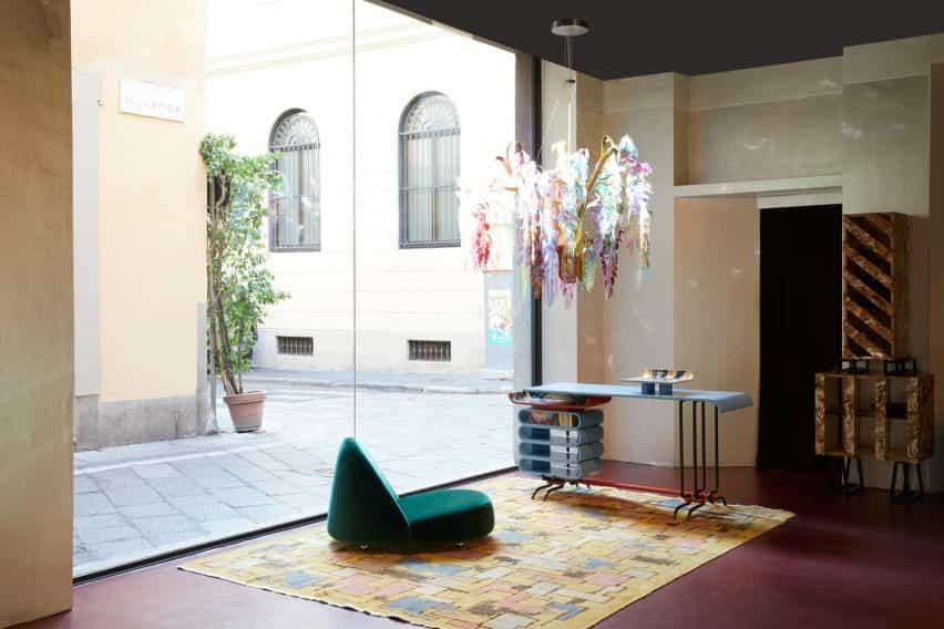 Exposición ornamental en la Galería Nilufar