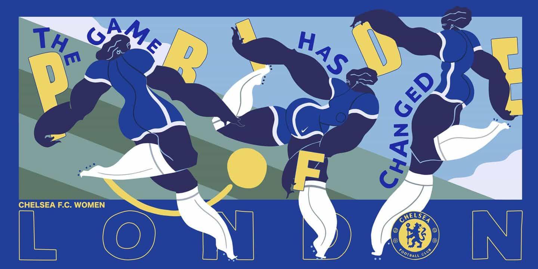 Chelsea Football Club celebra la creatividad de Londres con Kelly Anna, Alva Skog y más