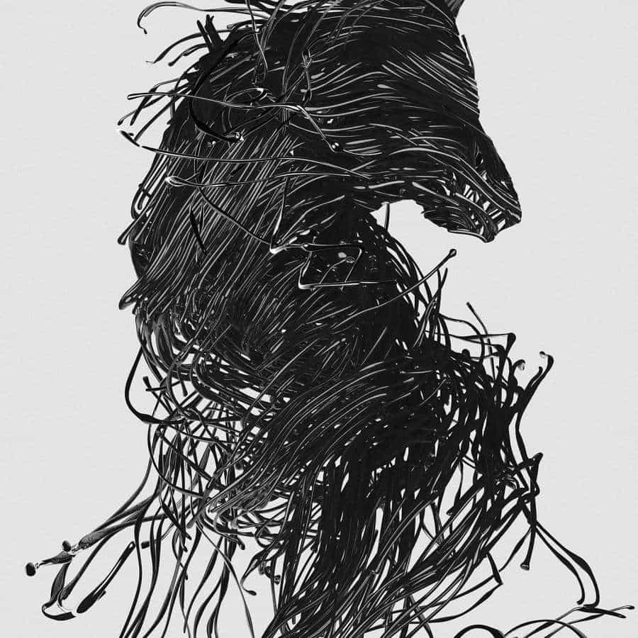 Dogma — Una serie de arte digital de Janusz Jurek