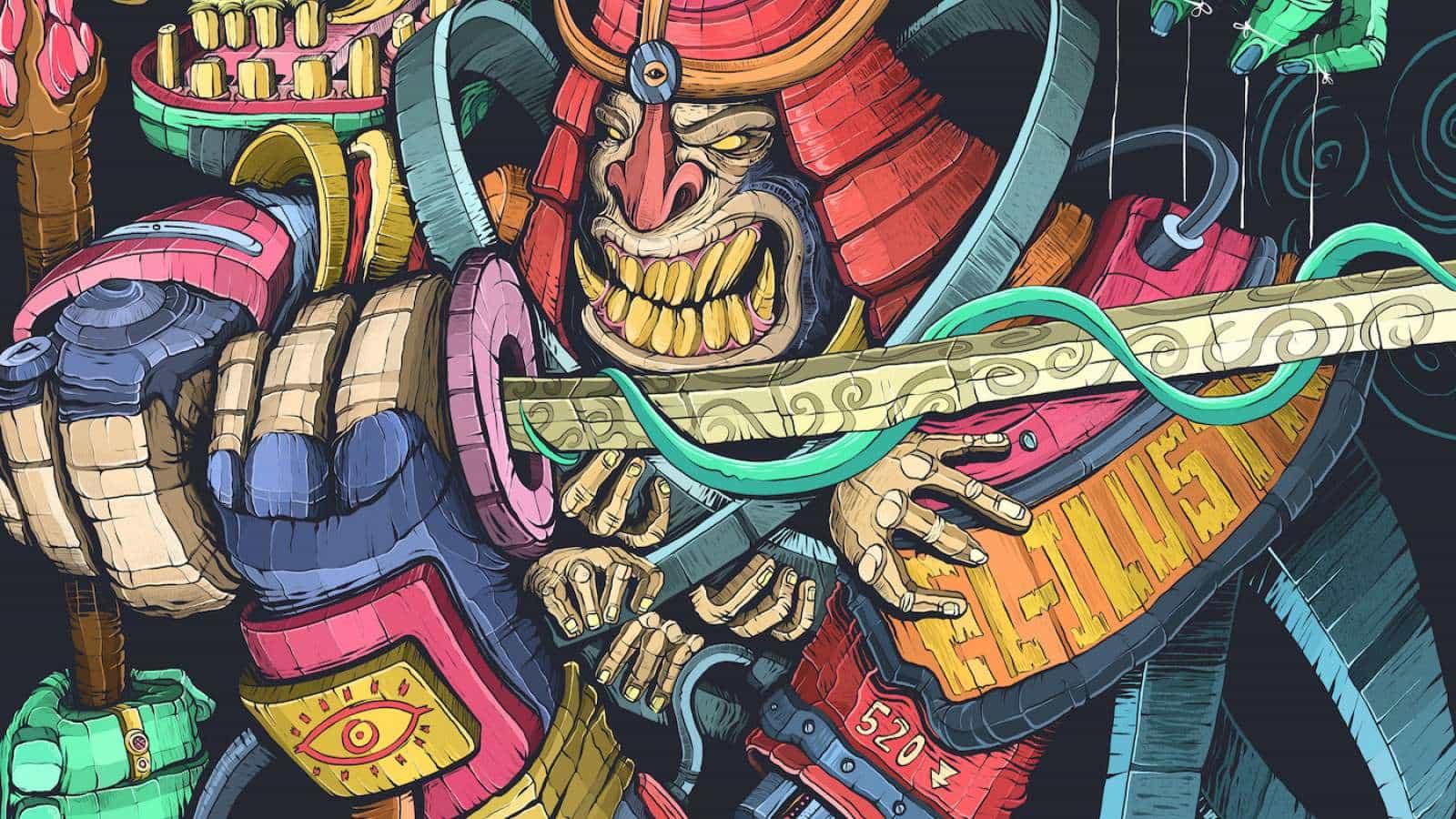 Si no se siguen EL ILUSTRADOR en Behance debe dejar de todo, haga clic en el enlace y comenzar a seguirlo. La ilustración de trabajo que comparte es simplemente de primera categoría especialmente si estamos hablando acerca de los detalles y texturas (Ni siquiera sé si esa es la forma correcta para describirlo), sin embargo, el proyecto titulado El Rey Mono - Sun Wu-Kong es la mejor manera de ilustrar mi punto, sin juego de palabras.